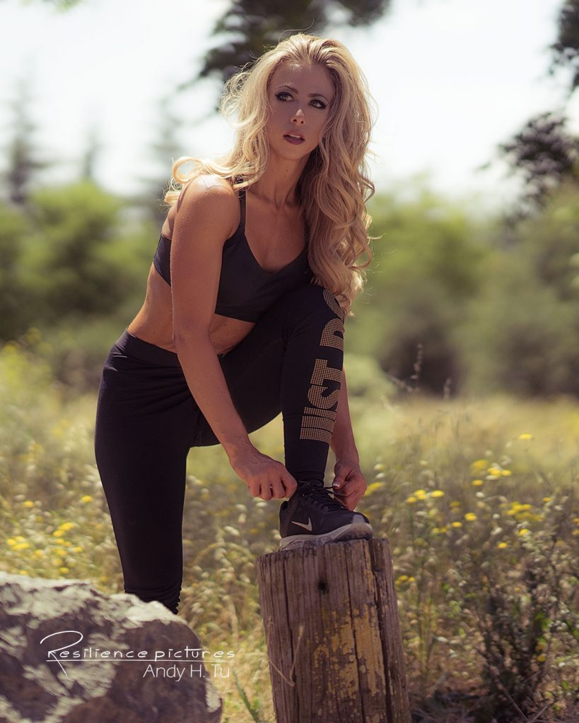 blonde-woman-in-active-wear-tying-shoes 3 Health Tips