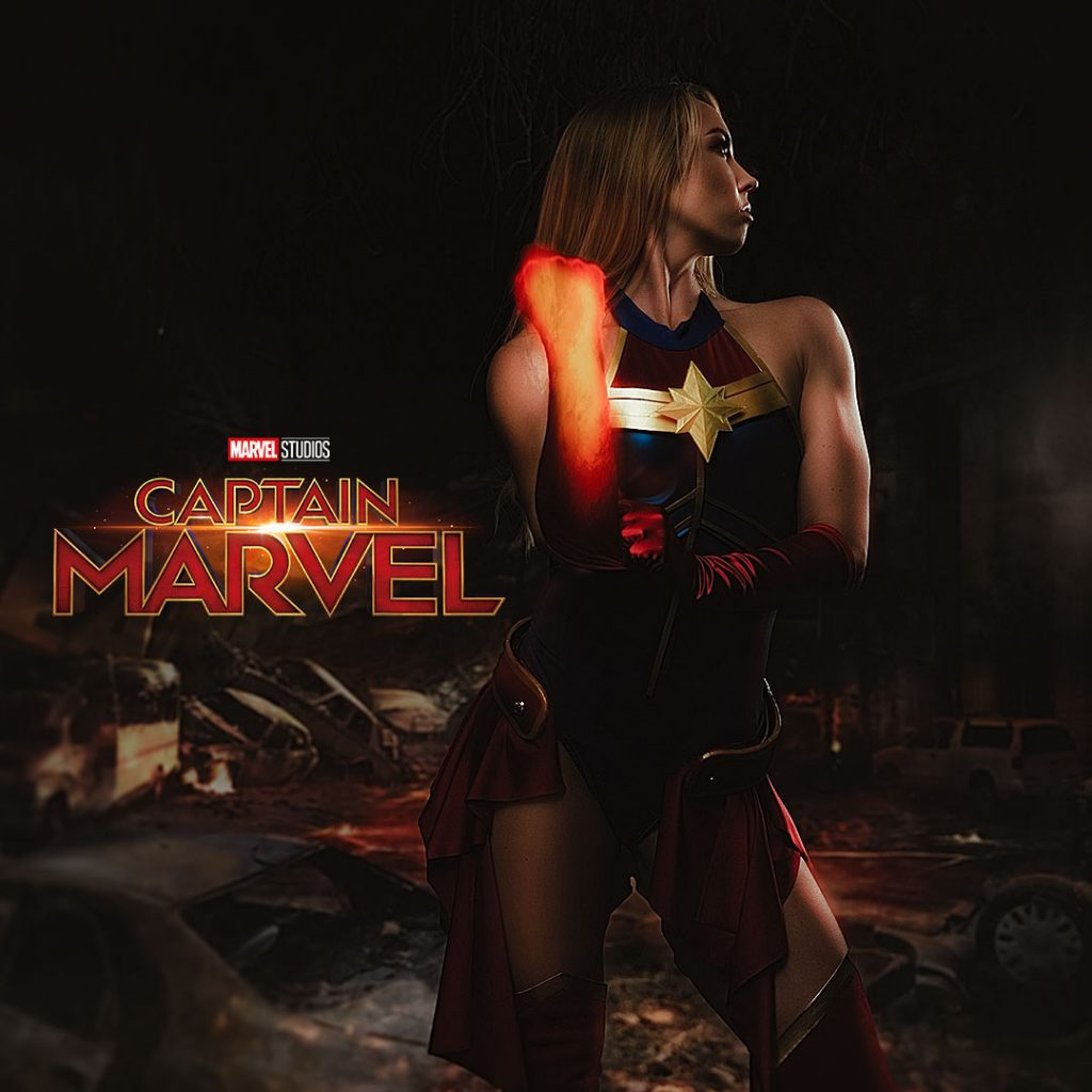 Captain Marvel, coming in March 2019.