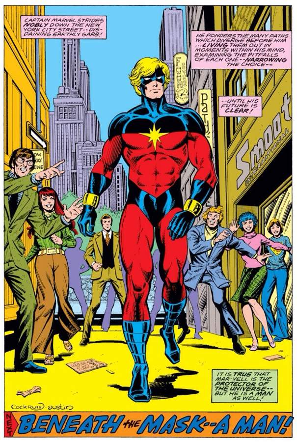 Mar-Vell from Earth's Mightiest Hero