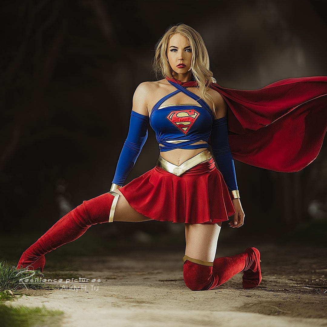 Supergirl Cosplay with Lisa Marie